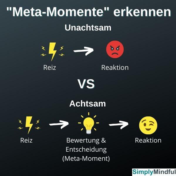 Achtsamkeitstraining - Reiz-Reaktion-Reiz-Bewertung-Reaktion - SimplyMindful.de