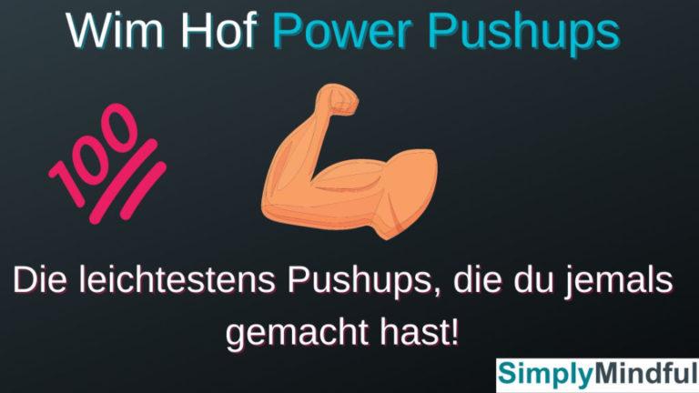 Wim Hof Atmung plus Pushups